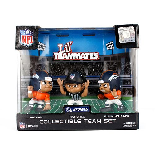 Denver Broncos 3-Pack Lil' Teammates Figures