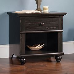 Sauder Harbor View Collection Antiqued Nightstand