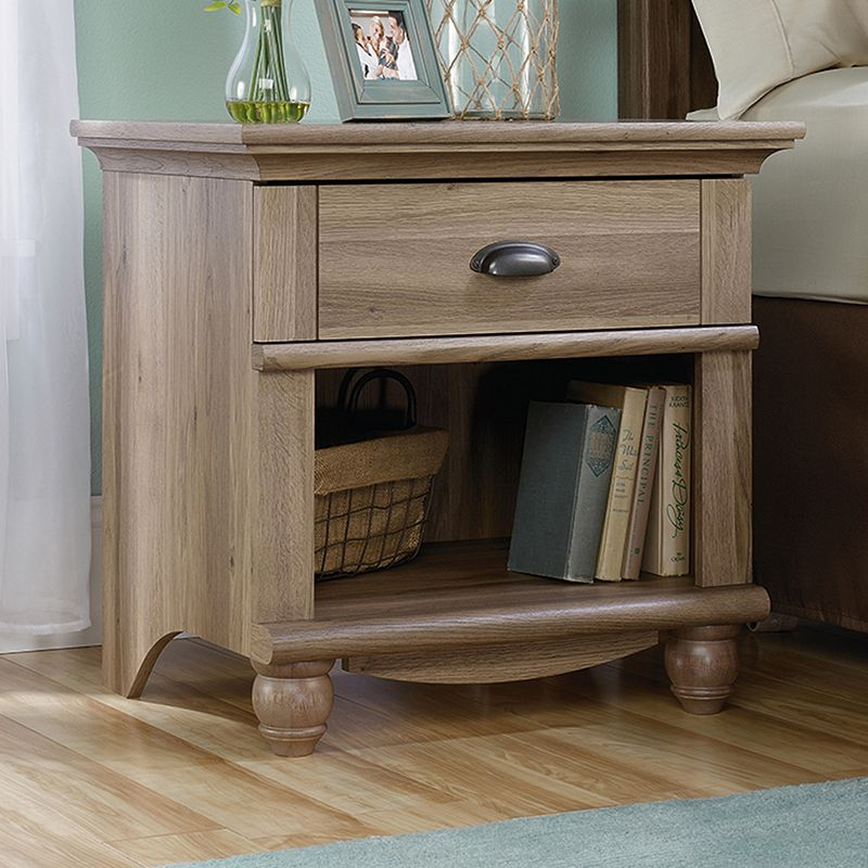Sauder Harbor View Collection Nightstand (Brown)