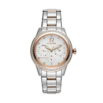 Citizen Women's Eco-Drive Silhouette Two Tone Stainless Steel Watch - FD2016-51A