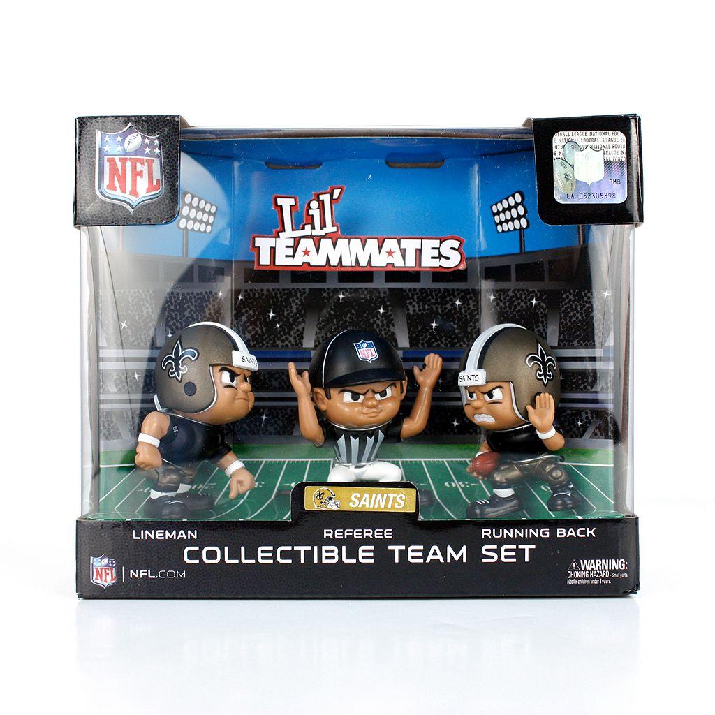 New Orleans Saints 3-Pack Lil' Teammates Figures