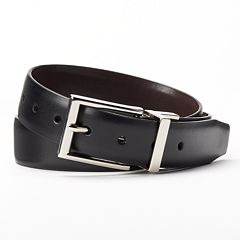 Boys 8-20 Chaps Reversible Faux-Leather Belt