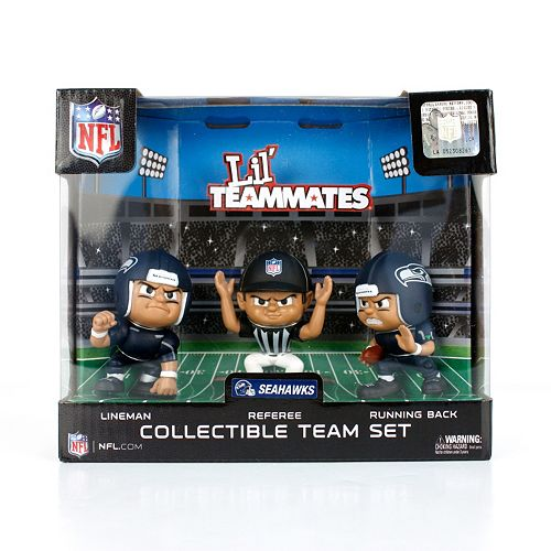 Seattle Seahawks 3-Pack Lil' Teammates Figures
