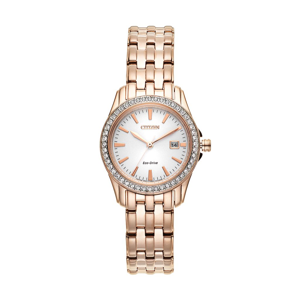 Citizen Women's Eco-Drive Silhouette Stainless Steel Watch - EW1903-52A