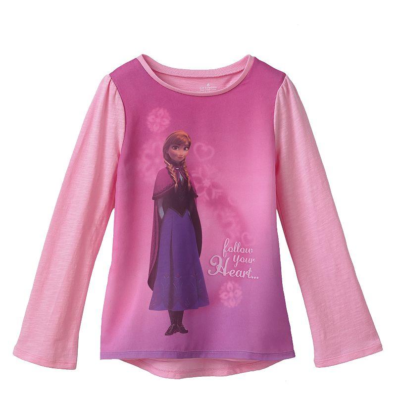 Disney Frozen Anna Woven-Front Babydoll Top by Jumping Beans - Girls 4-7