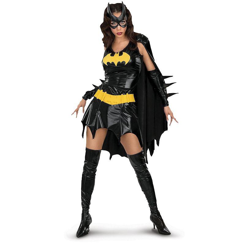 DC Comics Batgirl Deluxe Costume - Adult (Black)