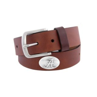 Men's Zep-Pro Alabama Crimson Tide Concho Leather Belt