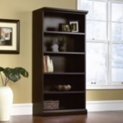 Sauder Library 5-Shelf Bookcase