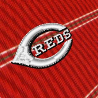 Men's Antigua Cincinnati Reds Deluxe Striped Desert Dry Xtra-Lite Performance Polo
