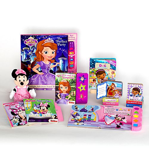 Disney Junior Deluxe Read & Play Gift Set