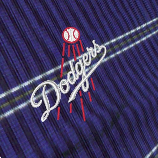 Men's Antigua Los Angeles Dodgers Deluxe Striped Desert Dry Xtra-Lite Performance Polo