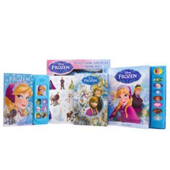 Disney's Frozen Read, Look & Play 3-Book Set