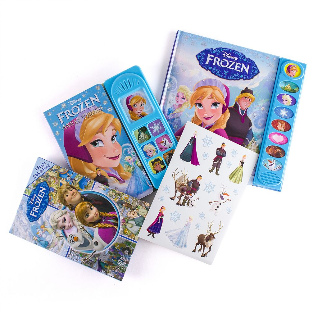 Disney's Frozen Read, Look & Play 3-Book Set