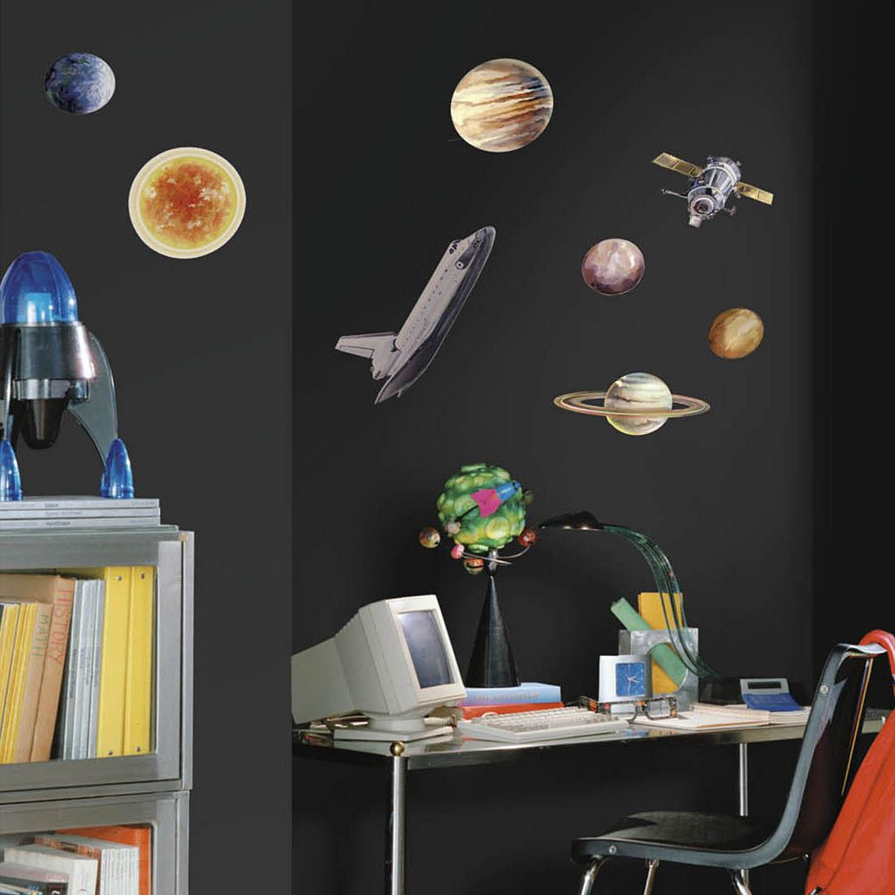 Space Travel Peel & Stick Wall Decals