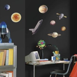 Space Travel Peel and Stick Wall Decals