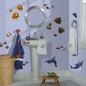 Under the Sea Peel and Stick Wall Decals