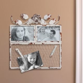 Fetco Hopewell 2-Opening Photo Clip Collage Wall Decor