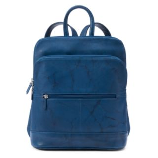 ili Adjustable Strap Leather Backpack