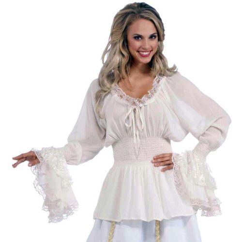 Medieval Blouse Costume - Adult Plus