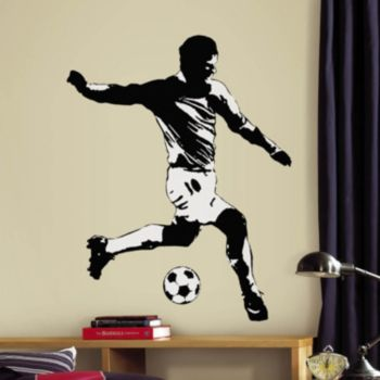 Soccer Player Peel and Stick Wall Decals