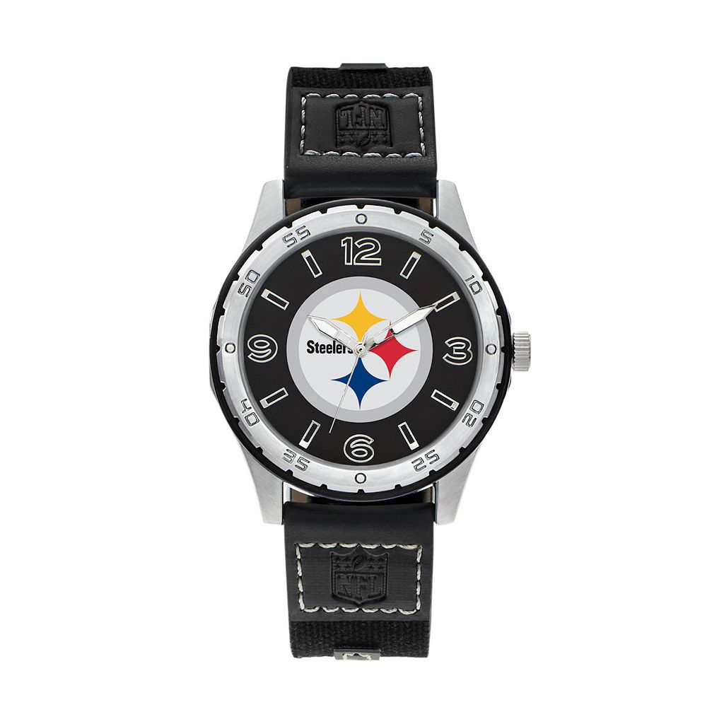 Sparo Men's Player Pittsburgh Steelers Watch