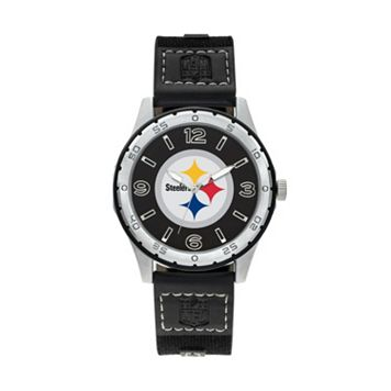 Sparo Men's Player Pittsburgh Steelers Watch