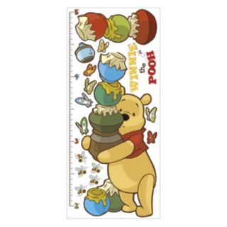 Disney Winnie the Pooh Growth Chart Peel and Stick Wall Decals