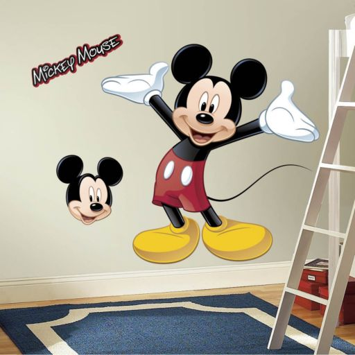 Disney Mickey Mouse Peel and Stick Wall Decals