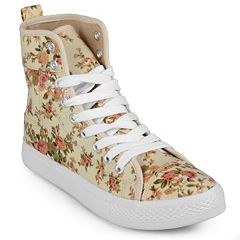 Journee Collection Esther Women's High-Top Sneakers
