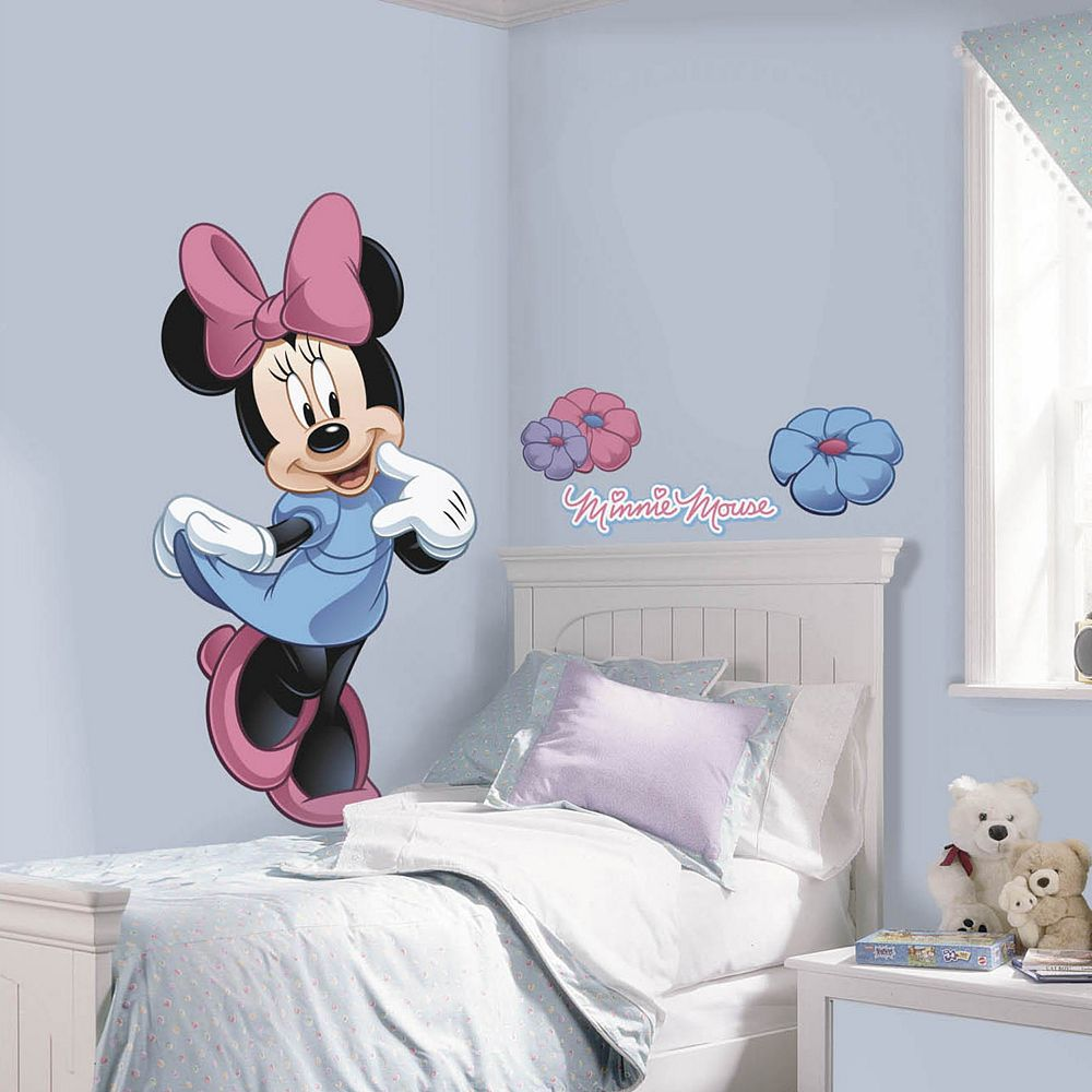 Disney Mickey & Friends Minnie Mouse Peel & Stick Wall Decals