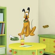 Disney Mickey & Friends Pluto Peel & Stick Wall Decals