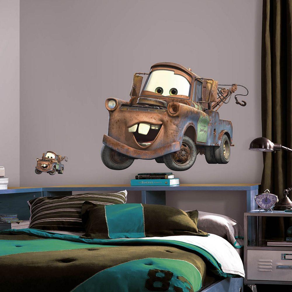 Disney / Pixar Cars Mater Peel & Stick Wall Decals