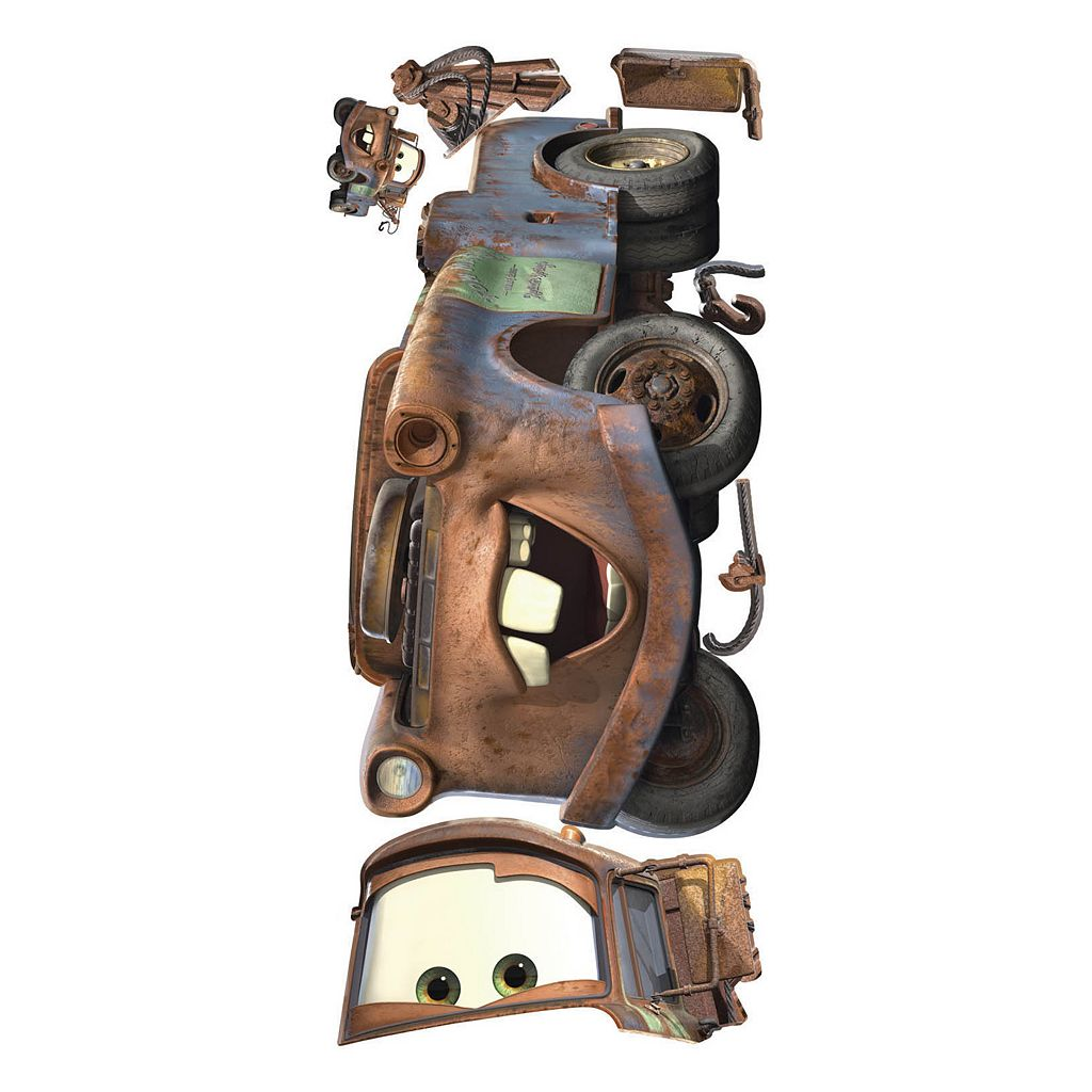 Disney / Pixar Cars Mater Peel and Stick Wall Decals