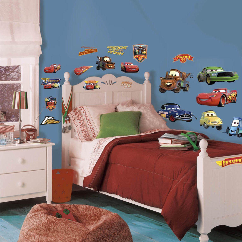Disney / Pixar Cars Piston Cup Ch&s Peel u0026 Stick Wall Decals & Cars Wall Decals Wall Decor Home Decor | Kohlu0027s