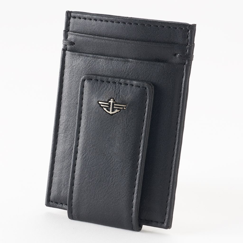 Dockers® Leather Magnetic Front-Pocket Wallet - Men