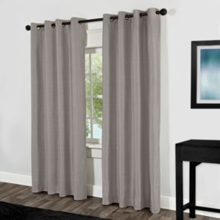 Exclusive Home Shantung Thermal Blackout Window Curtain Pair - 54'' x 84''