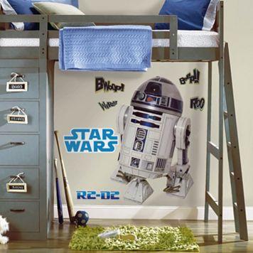 Star Wars R2D2 Peel & Stick Wall Decals
