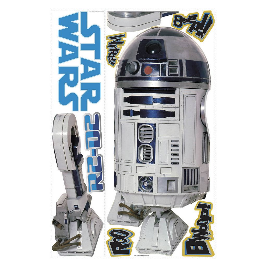 Star Wars R2D2 Peel and Stick Wall Decals