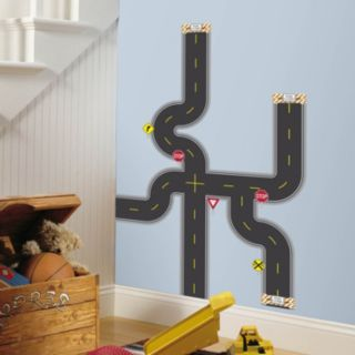 Build-a-Road Peel and Stick Wall Decals