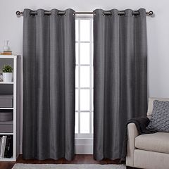 Exclusive Home Thermal Room Darkening Window Curtain Pair - 54'' x 84''