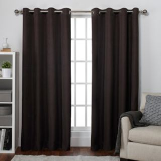 Exclusive Home Thermal Room Darkening Window Curtain Pair - 54'' x 84''