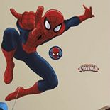 Marvel Ultimate Spider-Man Peel & Stick Wall Decal
