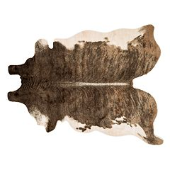 Loloi Grand Canyon Printed Animal Faux Pelt Rug - 6'2'' x 8'