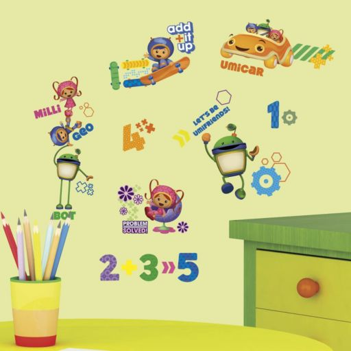 Team Umizoomi Peel and Stick Wall Decals