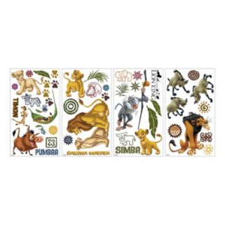 Disney The Lion King Peel and Stick Wall Decals