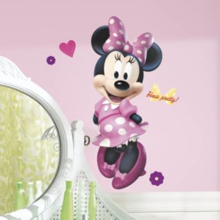 Disney Minnie Mouse Peel and Stick Wall Decal