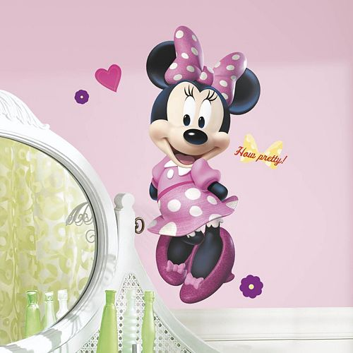 Disney Minnie Mouse Peel & Stick Wall Decal