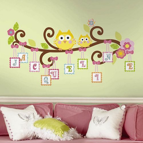 Happi Tree Letter Branch Peel & Stick Wall Decal
