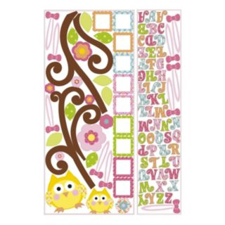 Happi Tree Letter Branch Peel and Stick Wall Decal