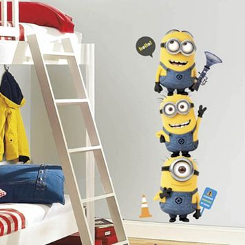 Despicable Me 2 Minions Peel & Stick Wall Decal